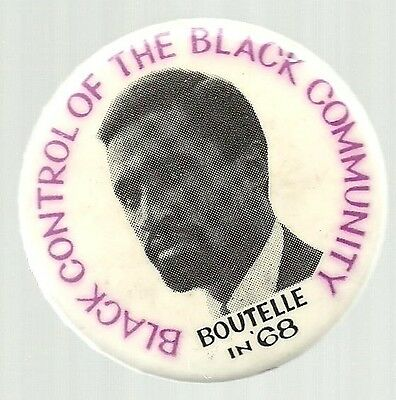 PAUL BOUTELLE FOR VICE PRESIDENT SOCIALIST WORKERS PARTY 1968 POLITICAL PIN
