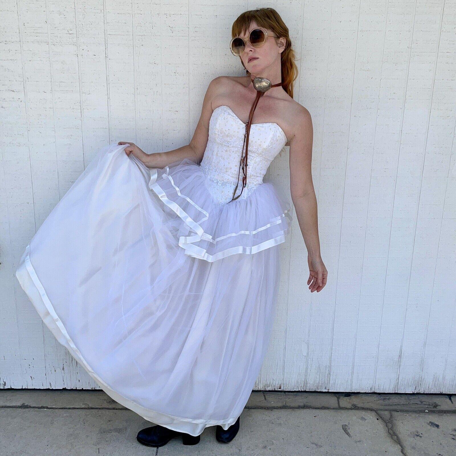 Vintage Gunne Sax Jessica McClintock Wedding Prom… - image 8
