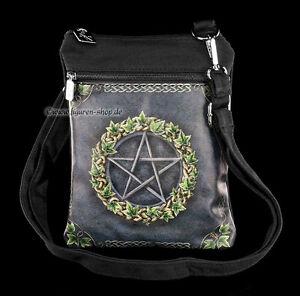 Fantasia Rituale Con Pentagramma Magia Ivy Borsa A Wicca Tracolla Piccola TSUYCFw