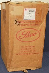 """NIB PECO 00-012028 1122-C 22"""" ACTIVATED CARBON FILTER CANISTER 230630-0 CARBOMAX"""