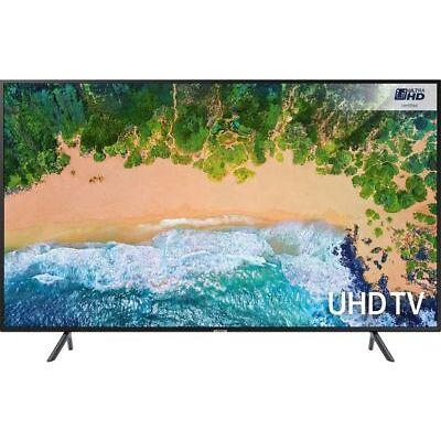 "Samsung Series 7 NU7100 65"" 4K Ultra HD HDR LED LCD Smart TV - Black"