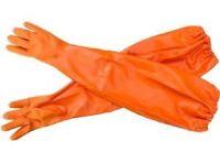 Uncle Freddie's Big Game Gut Long Gauntlet Gloves 26 Insulated Pair Size Medium