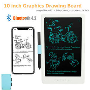 """10"""" Bluetooth Graphics Drawing Board Wireless Tablet Pad Painting Capacitive Pen"""