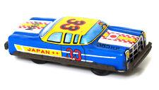 Vintage Nakamura JAPAN Tinplate Race Car Litho Tin Toy TN 1960's