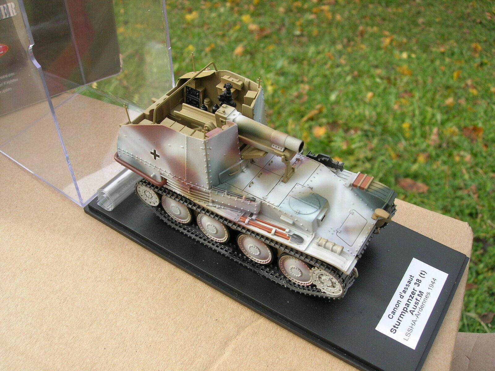 MASTER FIGHTER 1 48 CHAR ALLEMAND TANK STURMPANZER 38 Ausf M 138 1 ref48560HI