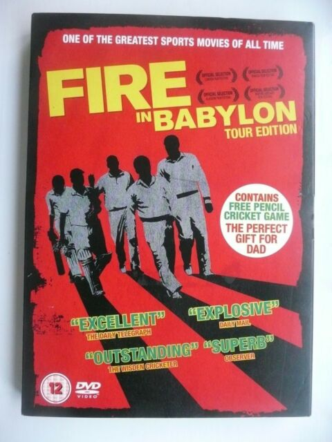 Fire In Babylon - Tour Edition (DVD, 2012) Stevan Riley, New and Sealed + slip
