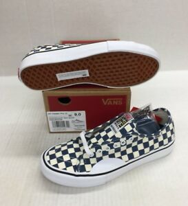 729672e7f4 Image is loading VANS-AV-CLASSIC-PRO-VN0A38C2U0B-CHECKERBOARD-DARK-DENIM