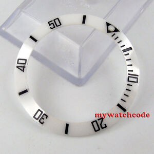 Watch Accessories Repair Tools & Kits Confident 39.8mm White Ceramic Bezel Insert For Watch Made By Parnis Factory B15