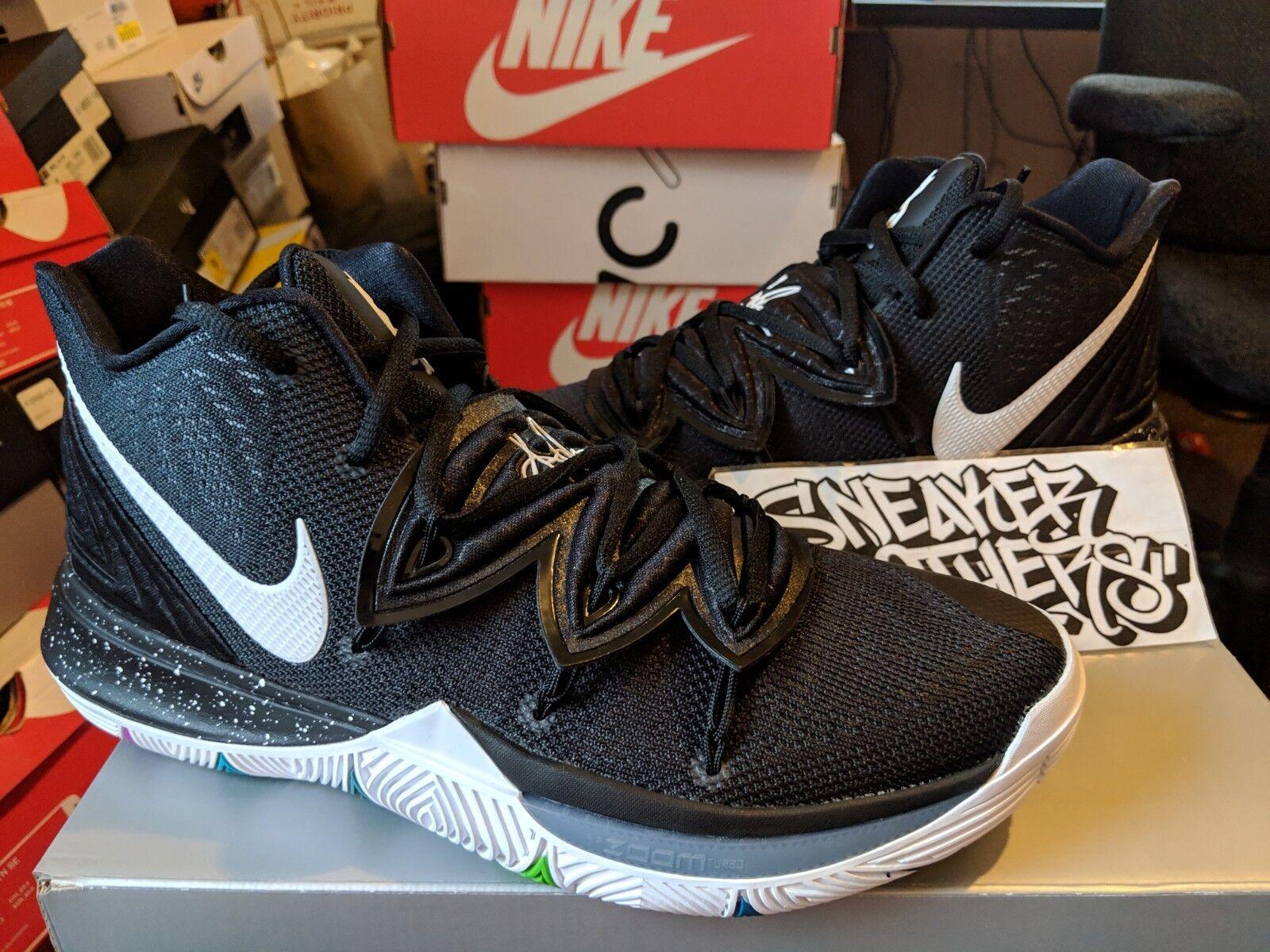 Nike Kyrie 5 Black Magic Multi-color Multi-color Multi-color White Basketball Men's AO2918-901 Irving 786395
