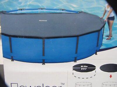 Bestway Abdeckplane für Steel Pro Max Pool und Power Steel 549cm Poolgröße