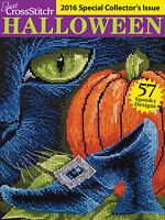 Just Cross Stitch Magazine: 2016 Special Collector's Annual Halloween Issue