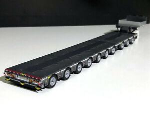 Broshuis Semi Lowloader 3 Axle WSI Models 04-1139 1:50