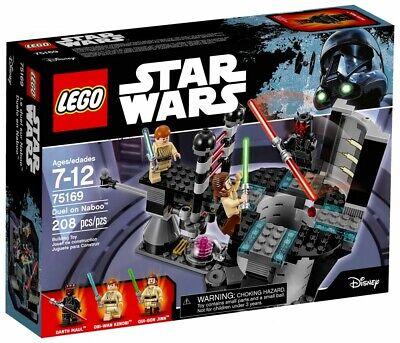BOITE SET LEGO STAR WARS NEUF VAISSEAU 75169 DUEL ON NABOO DARK MAUL ET JEDI