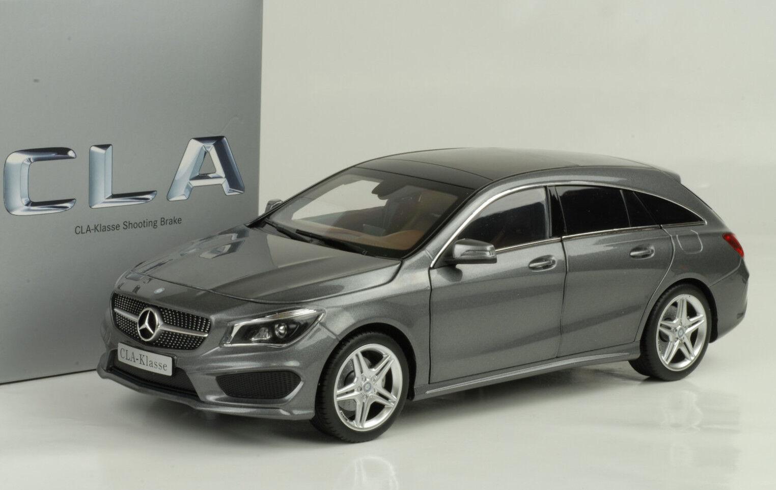2015 Mercedes-Benz CLA Class Shooting Brake Mountain Grey 1 18 Norev DEALER