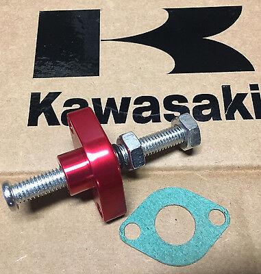 RED CNC-13 03-08 KAWASAKI KFX 400 BILLET MANUAL CAM CHAIN TENSIONER KLX USA