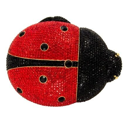 Butler & Wilson Swarovski Crystal Ladybird Clutch Bag NEW ONLY ONE!