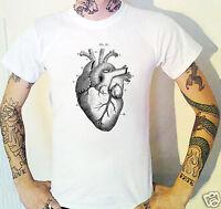 Vintage Anatomical Heart T-Shirt Biology Anatomy Medical