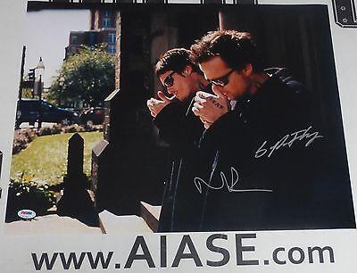 100% True Norman Reedus & Sean Patrick Flanery Signed The Boondock Saints 16x20 Photo Psa Movies Autographs-original