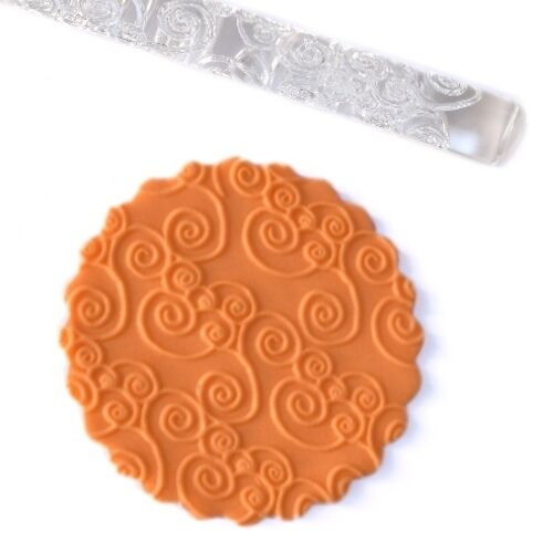Rodillo texturizador de fondant reposteria creativa tarta mazapan