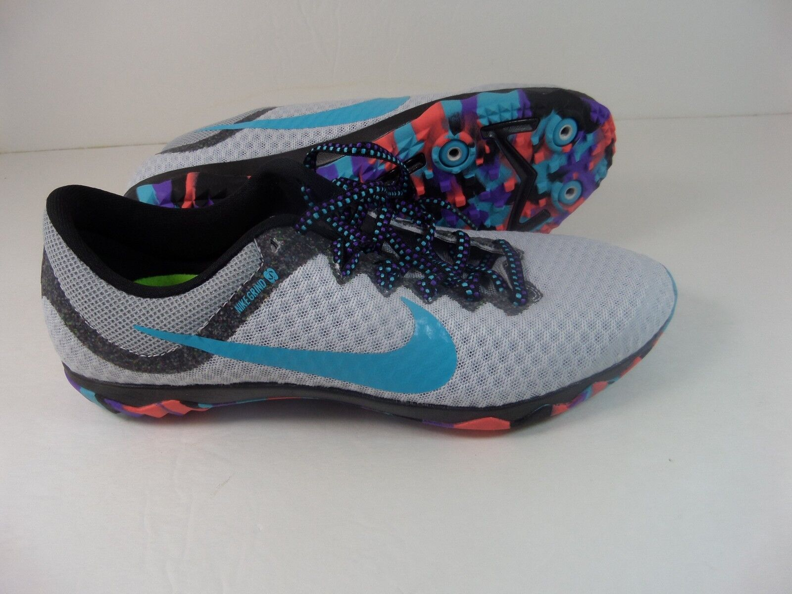 Nike Rival XC Grind Racing Spike Shoes Gray orange women Track Field Shoes New Seasonal price cuts, discount benefits