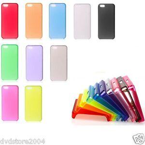 Pellicola-Custodia-FROSTED-Cover-Satinata-0-3mm-Plastica-per-Apple-iPhone