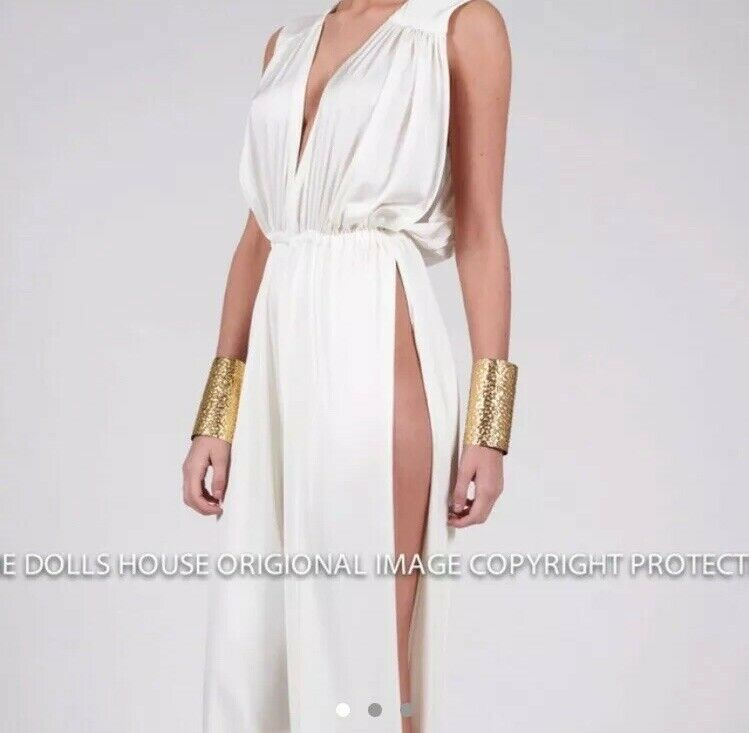Le Dolls House mode Silk Jumpsuit