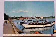 Postcard ~ Promenade & River Deben, Woodbridge  ~ Dennis ~ 1990