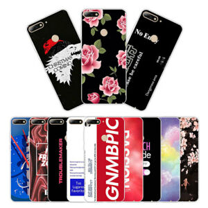 Soft TPU Silicone Case For Huawei Y7 Prime 2018 Phone Back Cover