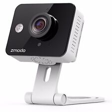 Zmodo Wireless Mini 720p HD IP WiFi Network Home Security Camera Two-Way Audio