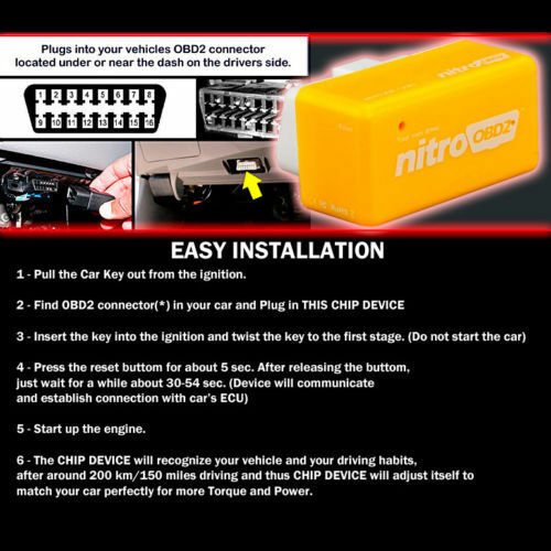 POWER BOX CAR AUTO CHIP TUNING ECU REMAPPING REMAP PERFORMANCE UPGRADE For MAZDA