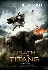 Wrath Of The Titans (2012) Adv Original Zweiseitig Film Filmposter 69x102cm