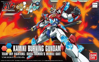 HGBF 1/144 Kamiki Burning Gundam Build Fighters TRY Plastic Model Kit Bandai