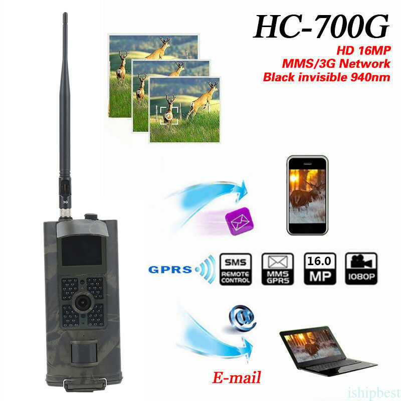 HC-700G 3G  GPRS MMS 16MP PIR Wildlife Scouting Trail Game Digital Hunting Camera  big savings