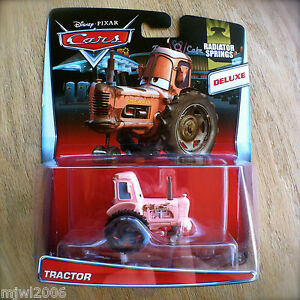 Disney-PIXAR-Cars-TRACTOR-diecast-NEW-RADIATOR-SPRINGS-15-19-theme-DELUXE-2015