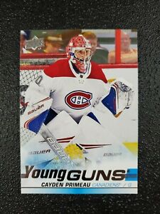 CAYDEN-PRIMEAU-RC-19-20-UPPER-DECK-YOUNG-GUNS-ROOKIE-CARD