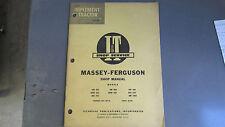 MASSEY FERGUSON 303, 333, 404, 406, 444 TRACTOR I&T SHOP SERVICE MANUAL # MF-10