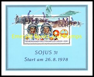 EBS-East-Germany-DDR-1978-Joint-space-flight-USSR-GDR-Michel-Block-53-MNH