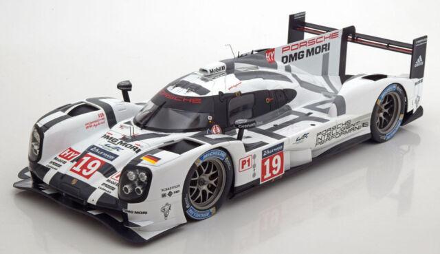 Porsche 919 Hybrid 19 Lmp1 Winner Le Mans 2015 By Spark Ebay