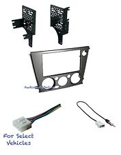 Double Din Car Stereo Dash Kit Combo for some 2005-2009 Subaru Outback/Legacy