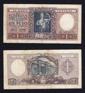 Argentina-1-Peso-1951-52-BB-VF-A-05