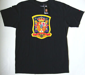 cc26d5d50 Image is loading Men-039-s-ADIDAS-SPAIN-SOCCER-FUTBOL-T-