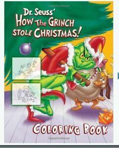 Dr Seuss How The Grinch Stole Christmas.How Grinch Stole Christmas Coloring Book By Jim Anderson