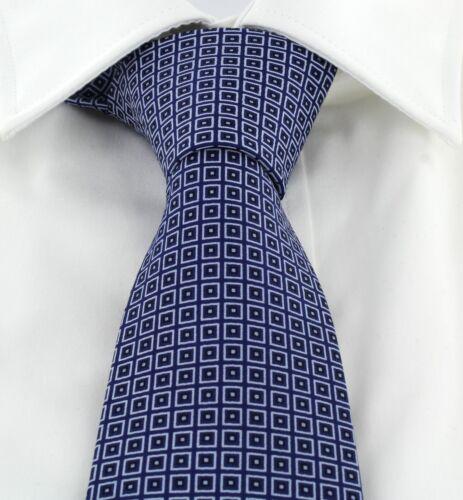 Michelsons of London Classic Diamond Print Silk Tie
