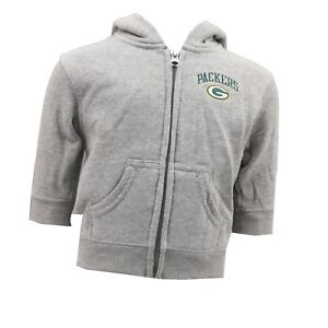 Green-Bay-Packers-NFL-Official-Baby-Infant-Zip-Up-Hooded-Sweatshirt-New-Tags