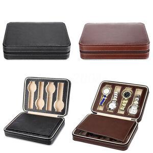 Coffret-Cuir-pour-8-Montres-Boite-a-Montre-Boitier-Rangement-Bijoux-Presentoir