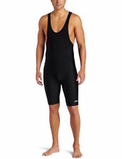 ASICS Men's Solid Modified Singlet - Wrestling - Black Medium M *NEW*