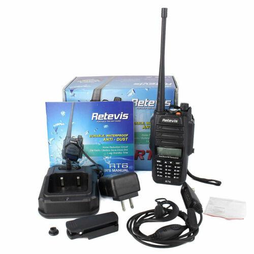 Radio Communication Waterproof ANTI-DUST Walkie Talkie RT6 VHF/UHF ...