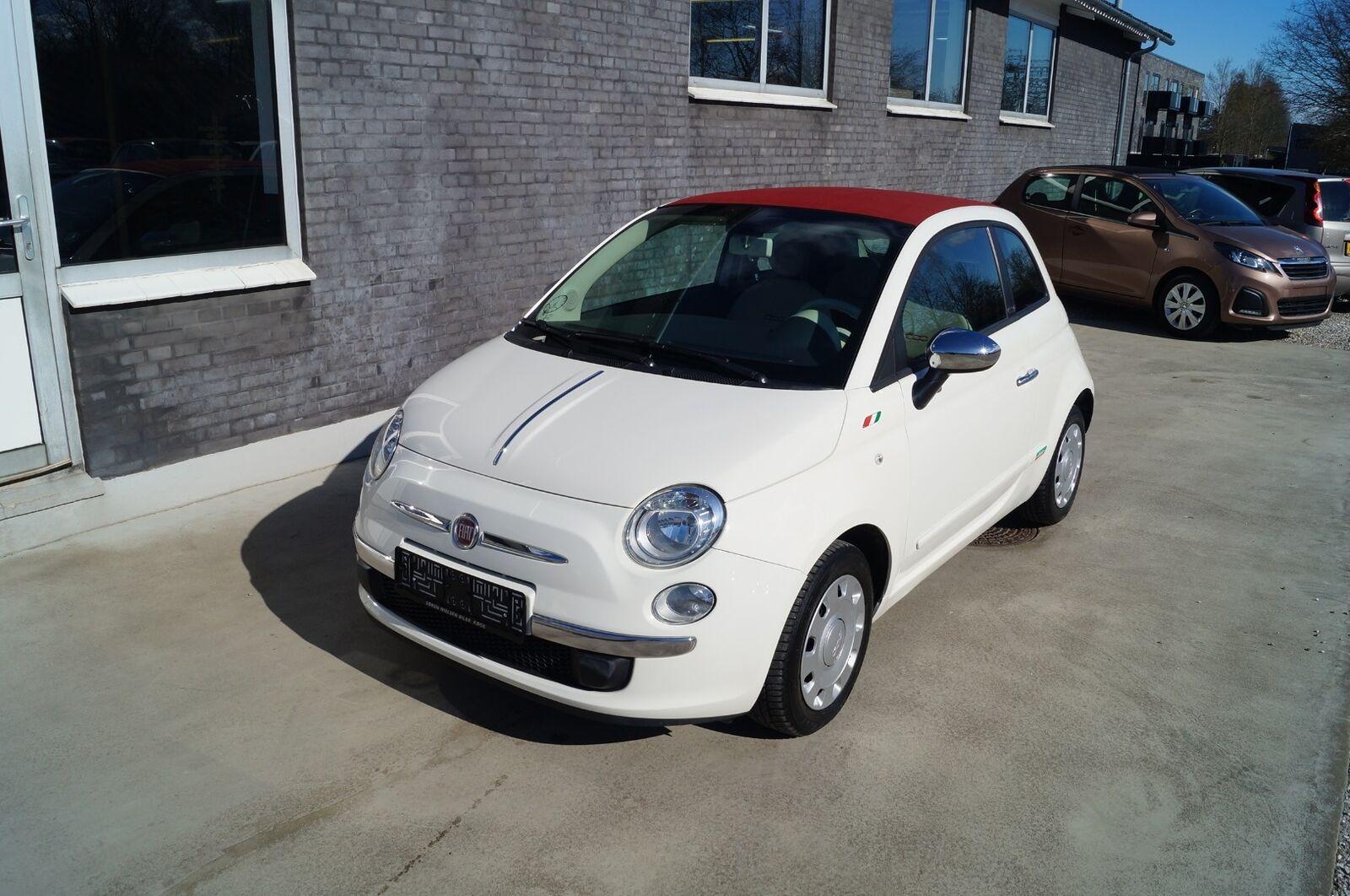 Fiat 500C 1,2 Pop 2d - 54.800 kr.
