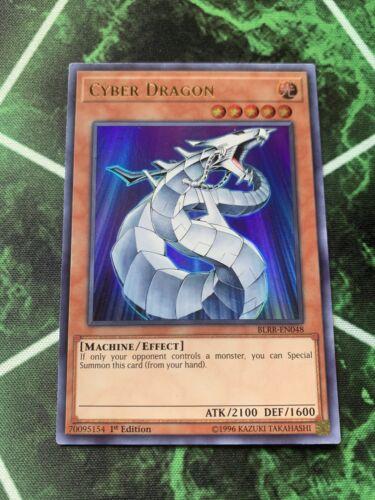 Cyber Dragon BLRR-EN057 Ultra Rare 1st Edition Near Mint Yu-Gi-Oh