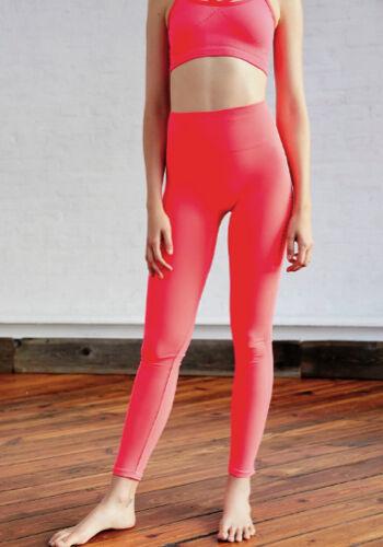 l 91 persone Leggings Neon Sz movimento Nuovo libere mala di s Pink Xs pena 12 a m STwEx6Z